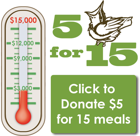 Donate $5 for 15!
