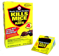 Rat and mice poison
